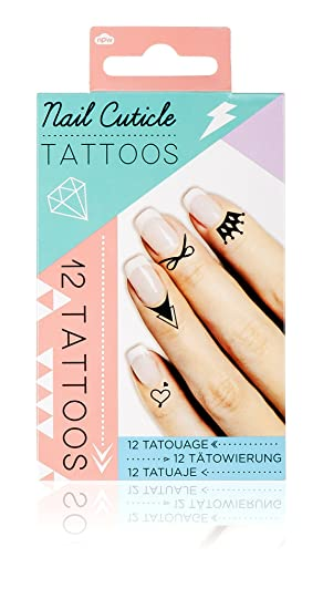 Npw Nail Art Stickers Decals Fashion Nail And Cuticle Temporary