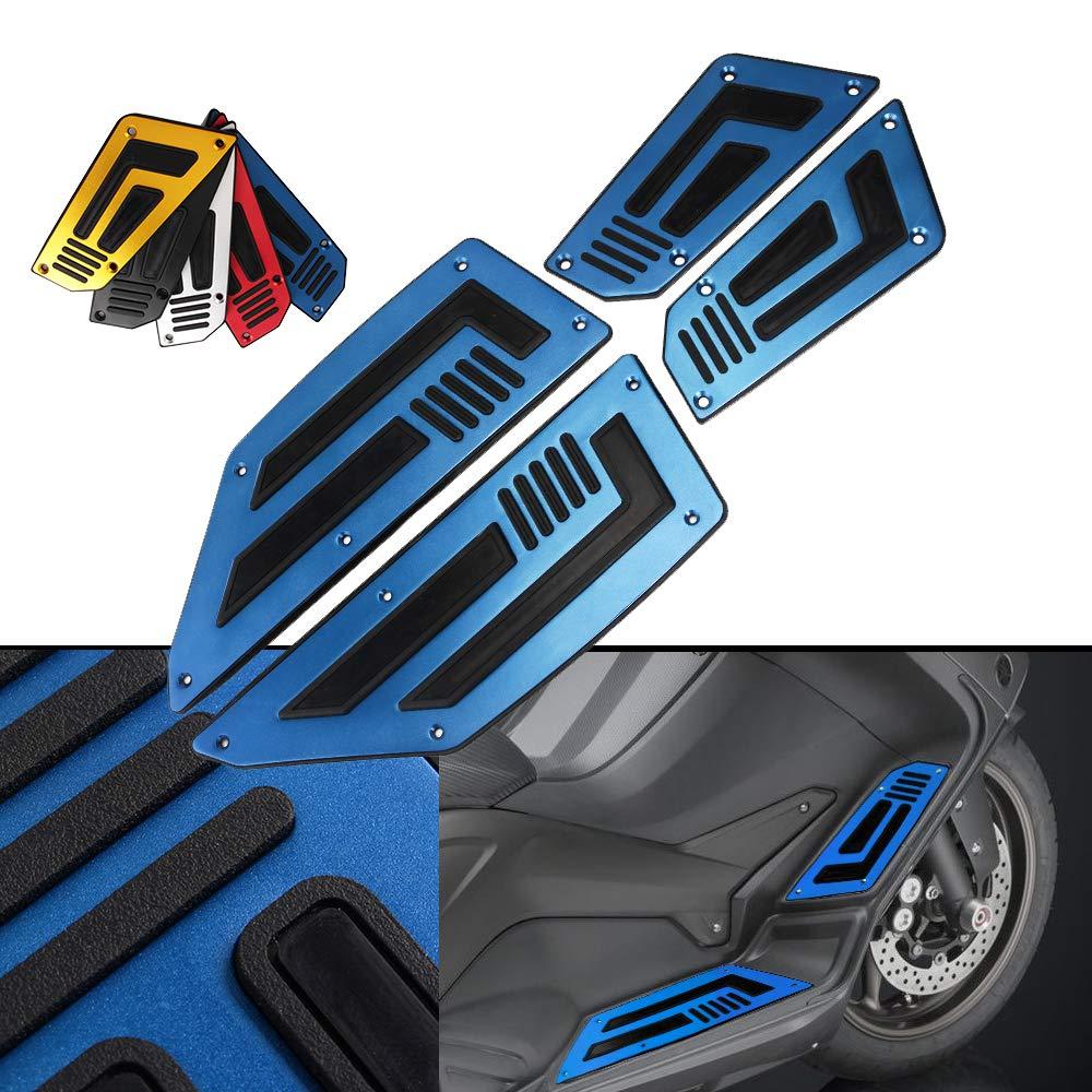 Moto Anteriore posteriore Poggiapiedi footpeg Poggiapiedi Pad per Yamaha TMAX T-max 530 2012-2016