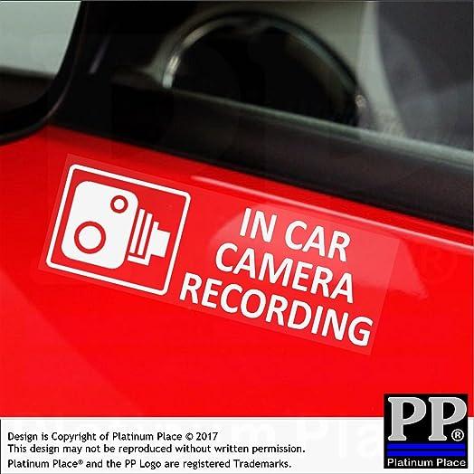 X EXTERNAL Small In Car Camera Recording Window Amazoncouk - Car window stickers amazon uk