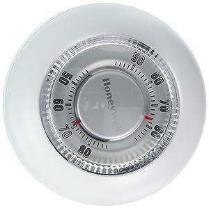 Honeywell Mercury Free Round Heat/Cool Thermostat Heat & Cool 24 V