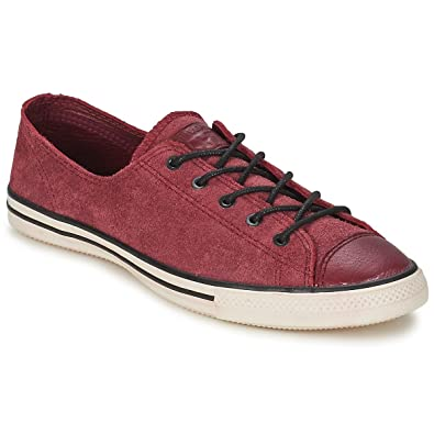 Converse Chuck Taylor All Star Fancy Leather OX Sneaker ...