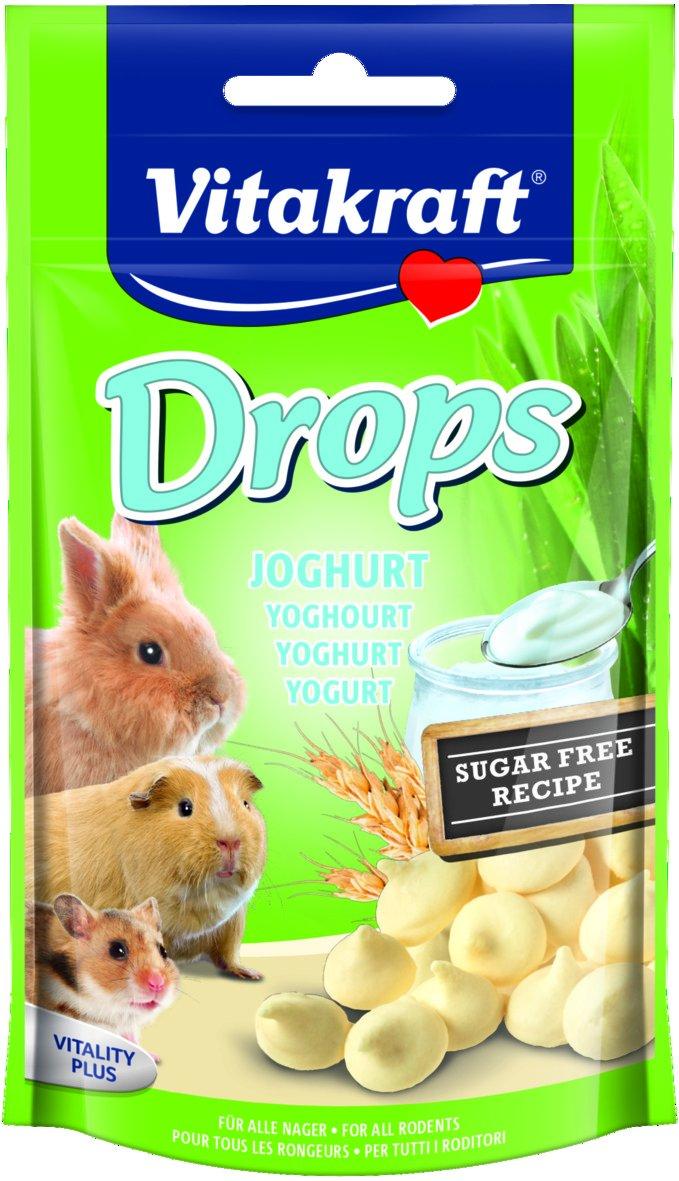 Vitakraft - 25789 - Drops au Yaourt - Lapins Nains Doypack - 75 g STV922B