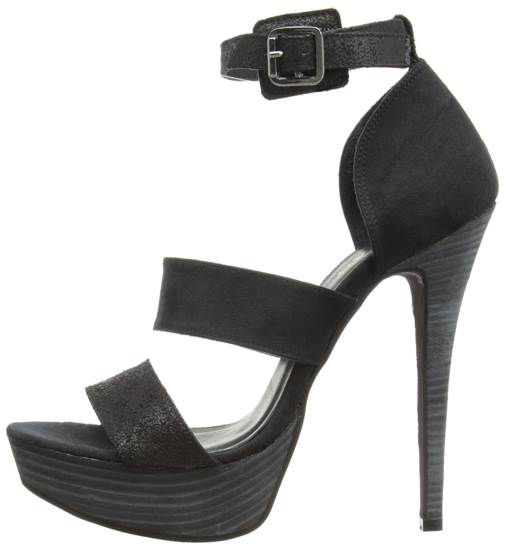 Gas Footwear Firestar - Sandalias de vestir para mujer, color negro, talla 40