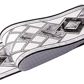 HBOS Moderne Geometrie Muster Tapete Bordüre Aufkleber ...