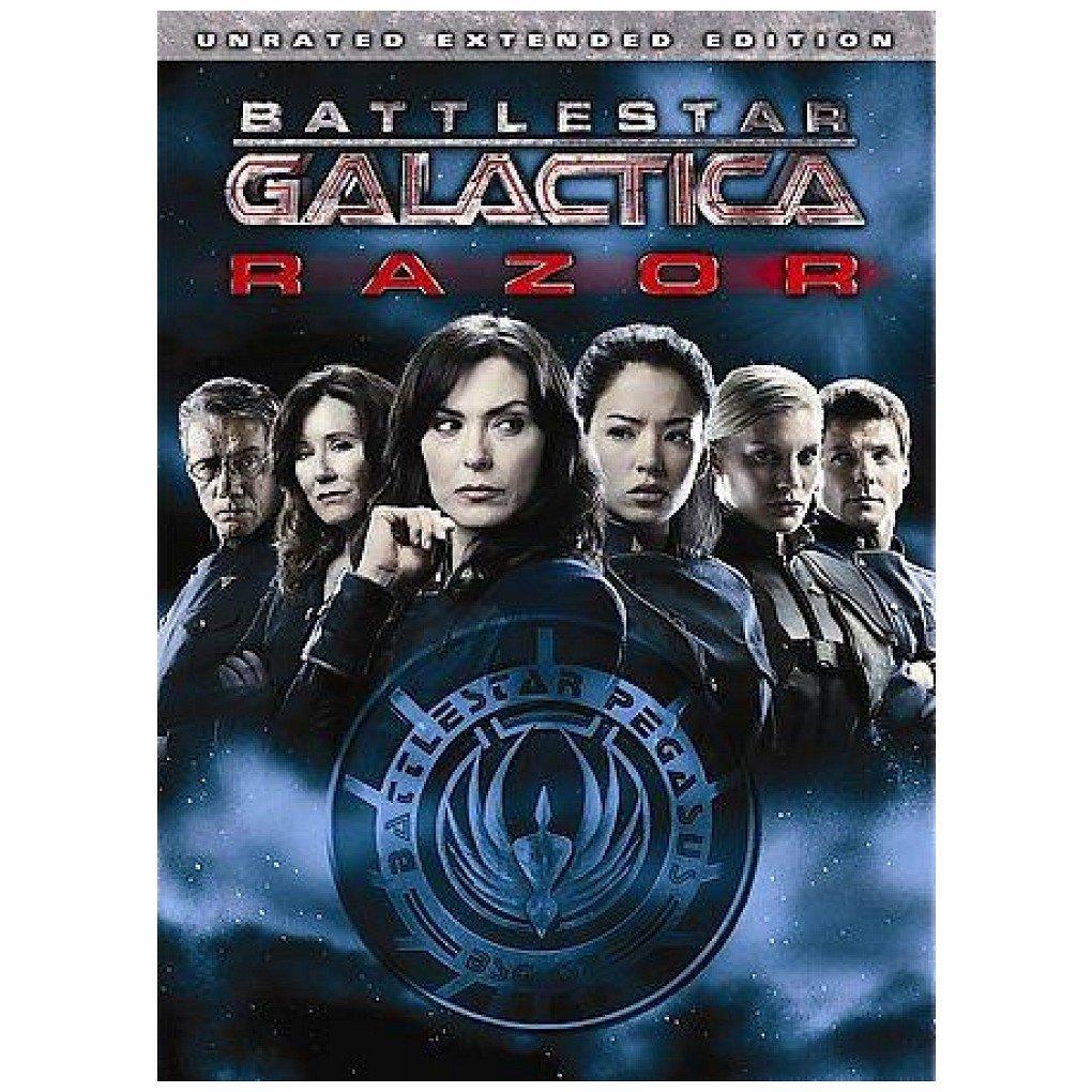 DVD : Battlestar Galactica: Razor (AC-3, O-Card Packaging, Widescreen, , Dolby)