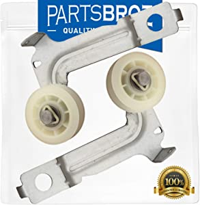w10547292 Idler Pulley Wheel and Arm (2-Pack) by PartsBroz - Compatible with Whirlpool Dryers - Replaces W10547292, 8547160, PS11756154, WPW10547292VP
