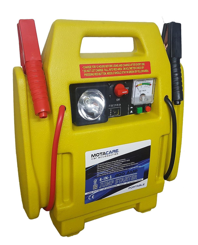 Motacare® 4-in-1 12V 400A Car Jump Starter & Air Compressor