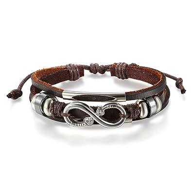 891b0d64ad0e JewelryWe Pulseras para Hombre Mujer
