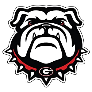 "UGA GEORGIA BULLDOGS Large 12"" New Dawg Auto Magnet"