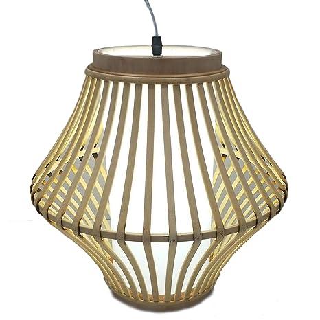 Lámpara rattan techo modelo: 0040948: Amazon.es: Iluminación