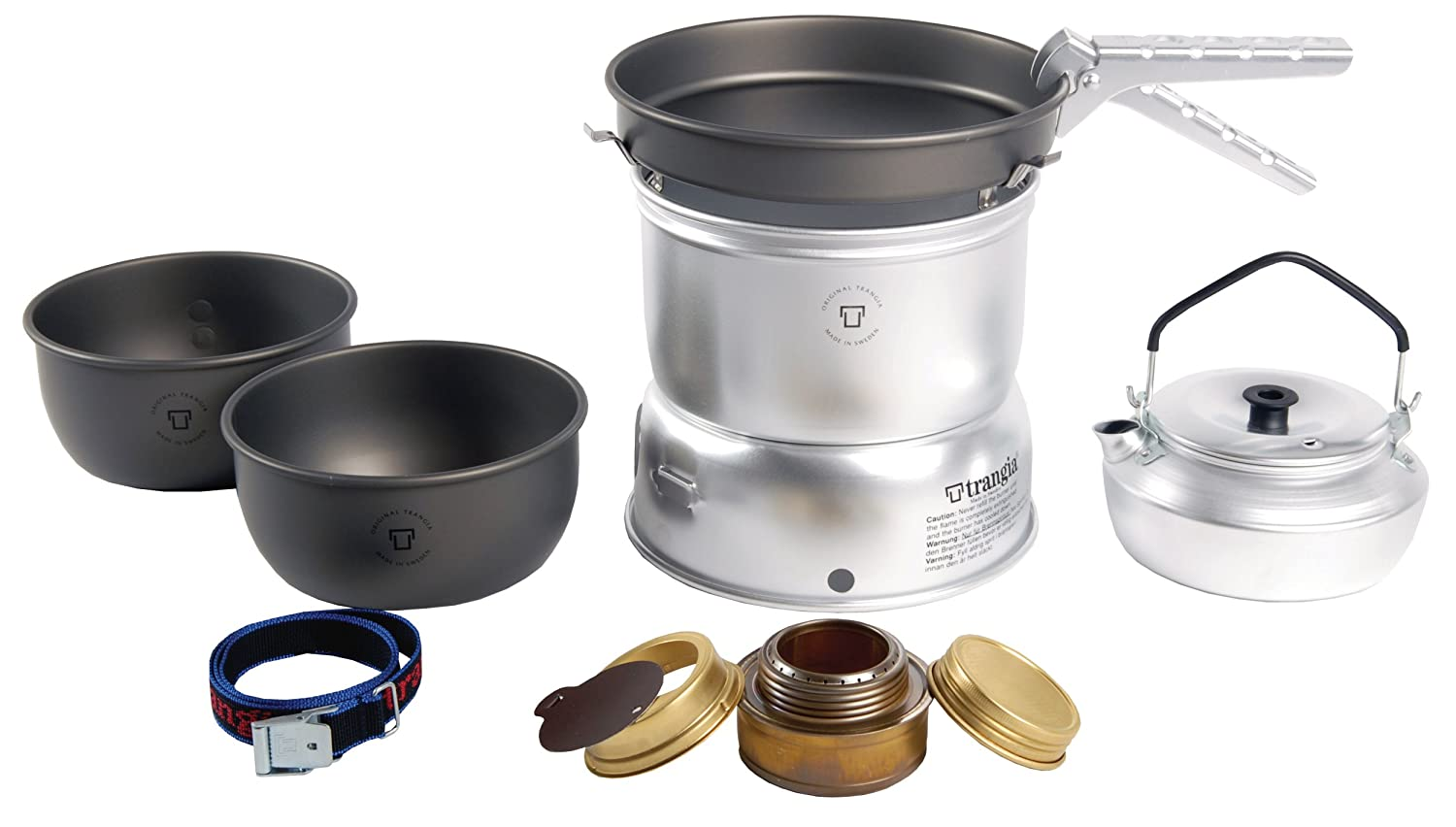 Trangia 27-8 Ultralight Hard Anodized Stove Kit