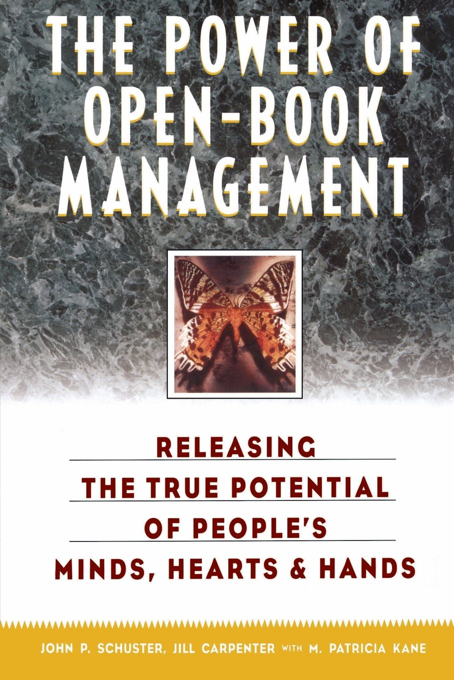 the power of open book management releasing the true potential of