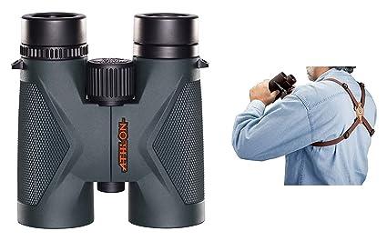 Athlon Optics Midas Binocular 10x42 ED con Correa de arnés: Amazon ...
