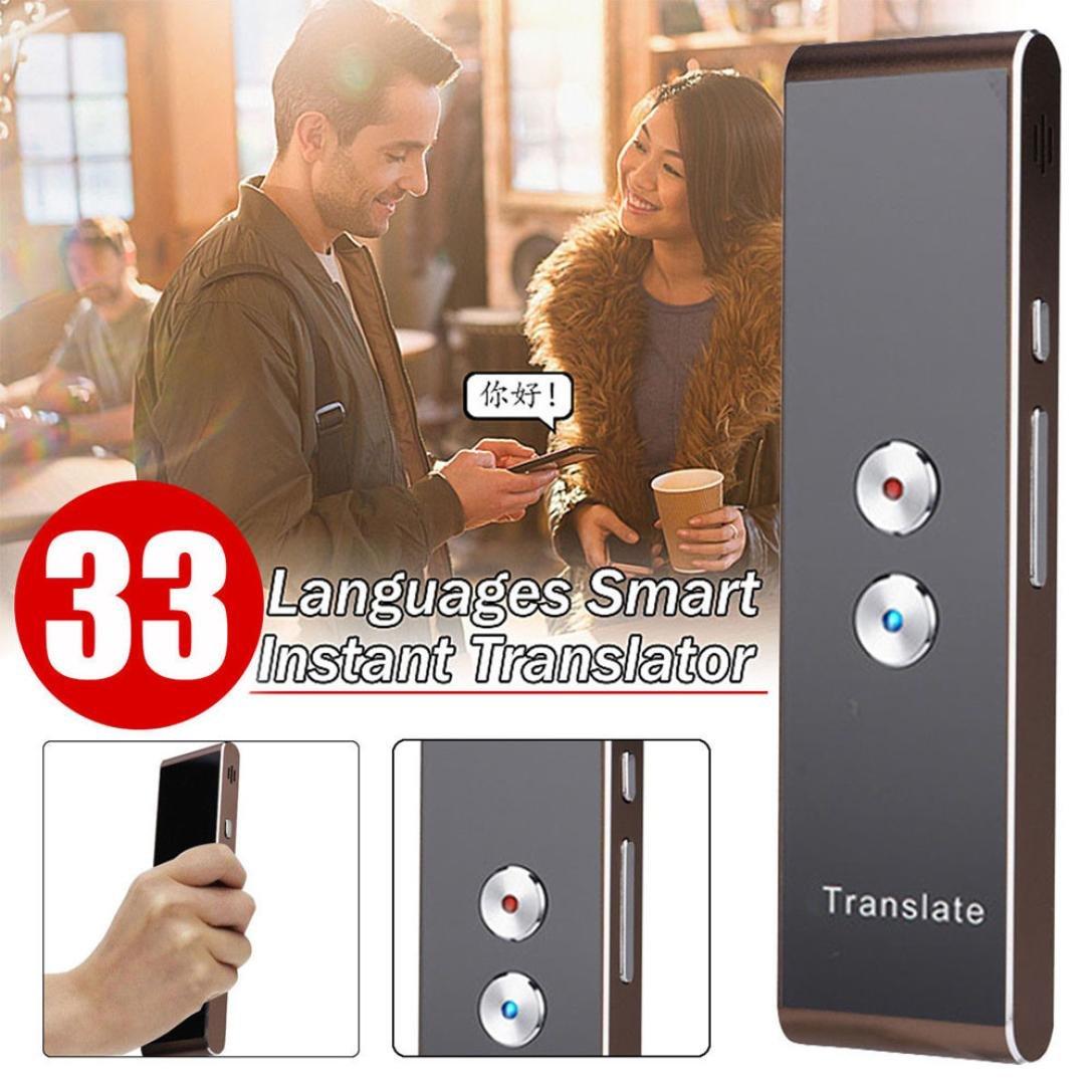 Smart Language Translator Instant Easy Trans Voice Speech 33 Languages