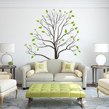 Vinyl Baum Wandtattoo Bäume Und Äste Natur Wand Zitate Wandsticker Haus Kunst Dekoration  (