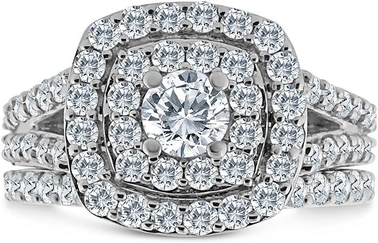 Inara Diamonds BRDL2106 10k WG product image 2