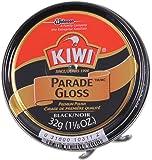 Kiwi Parade Gloss Premium Shoe Polish Paste, 1-1/8 oz, Black