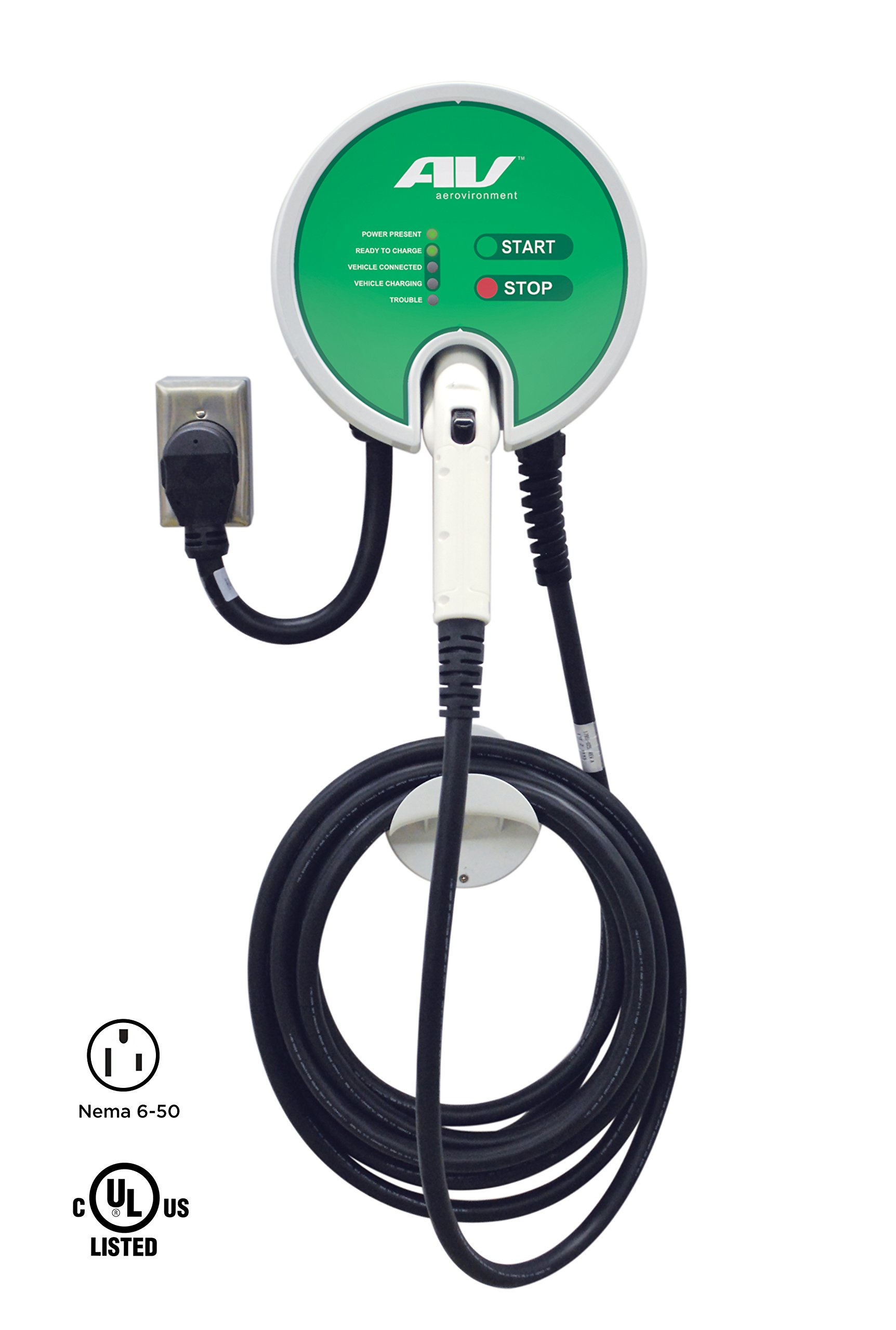 AeroVironment EV Charger: Plug-In, 25' cable, 32A, 7.7kW - SPECIAL PRICE PROMOTION! by AeroVironment (Image #2)