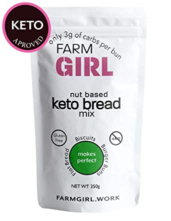 Farm Girl: mezcla de pan Keto, fácil de hornear, sólo tiene ...