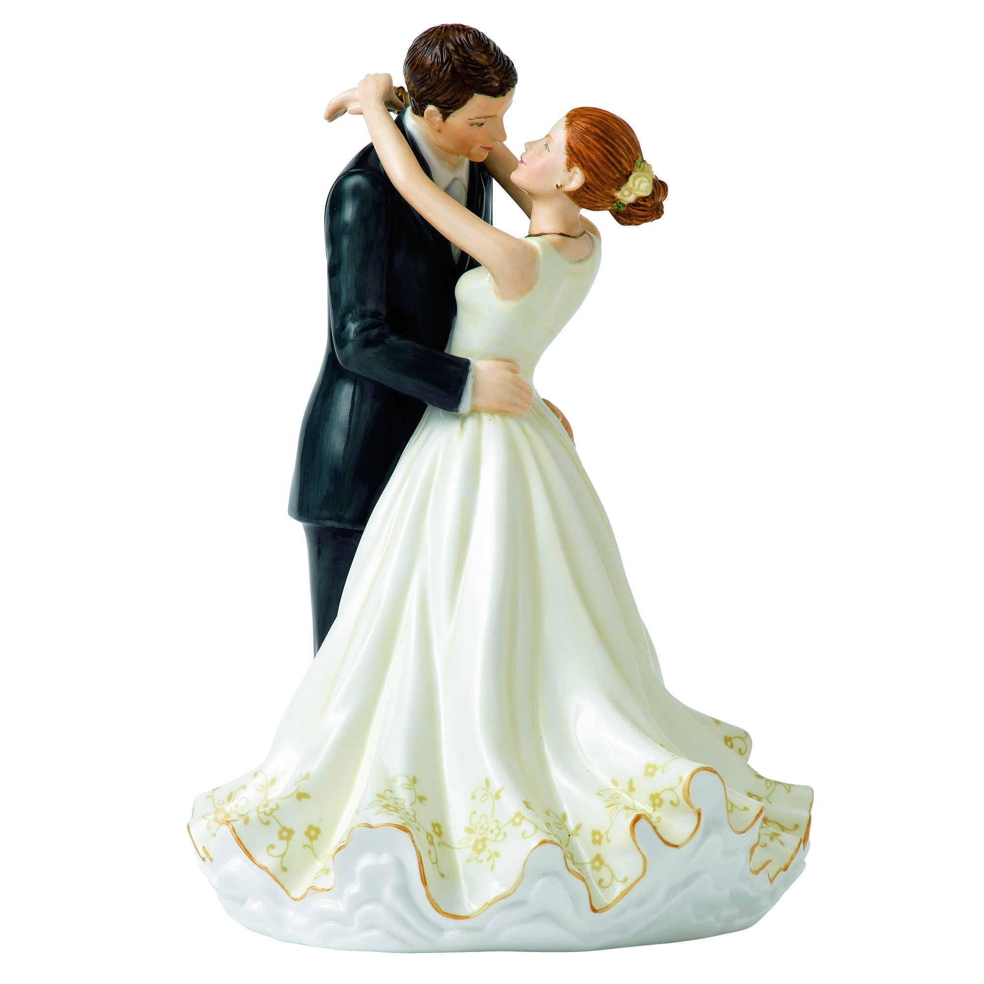 Royal Doulton Occasions Forever Cake Topper Figurine, 9.25''