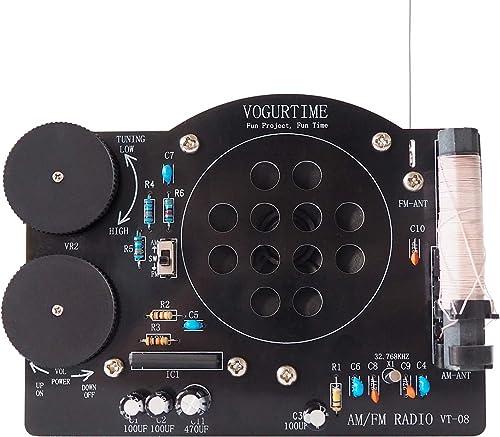AM FM Radio Kit Soldering Project Kit