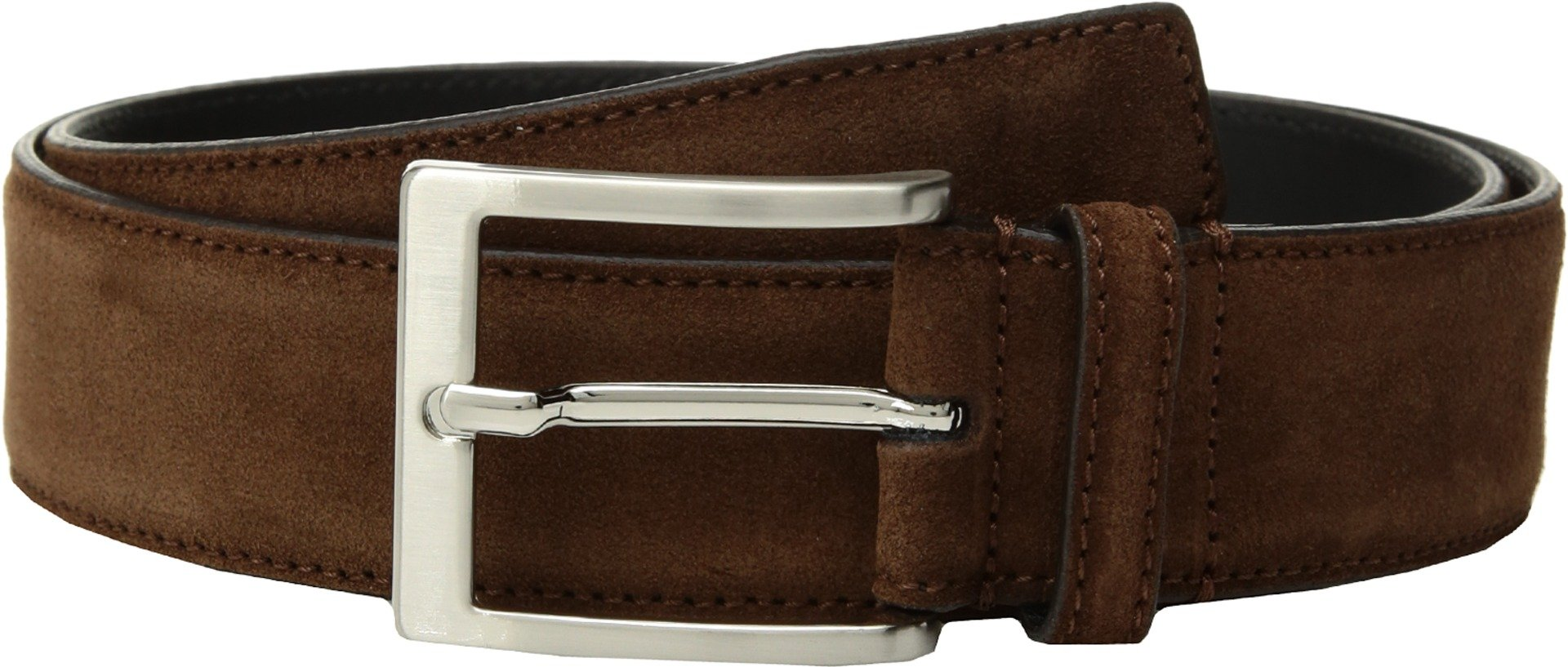 To Boot New York  Men's Belt Medium Brown Suede 40