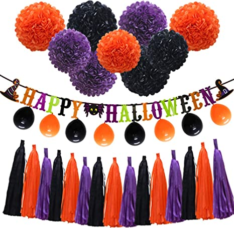 Purple And Black Decorations Party  from images-na.ssl-images-amazon.com