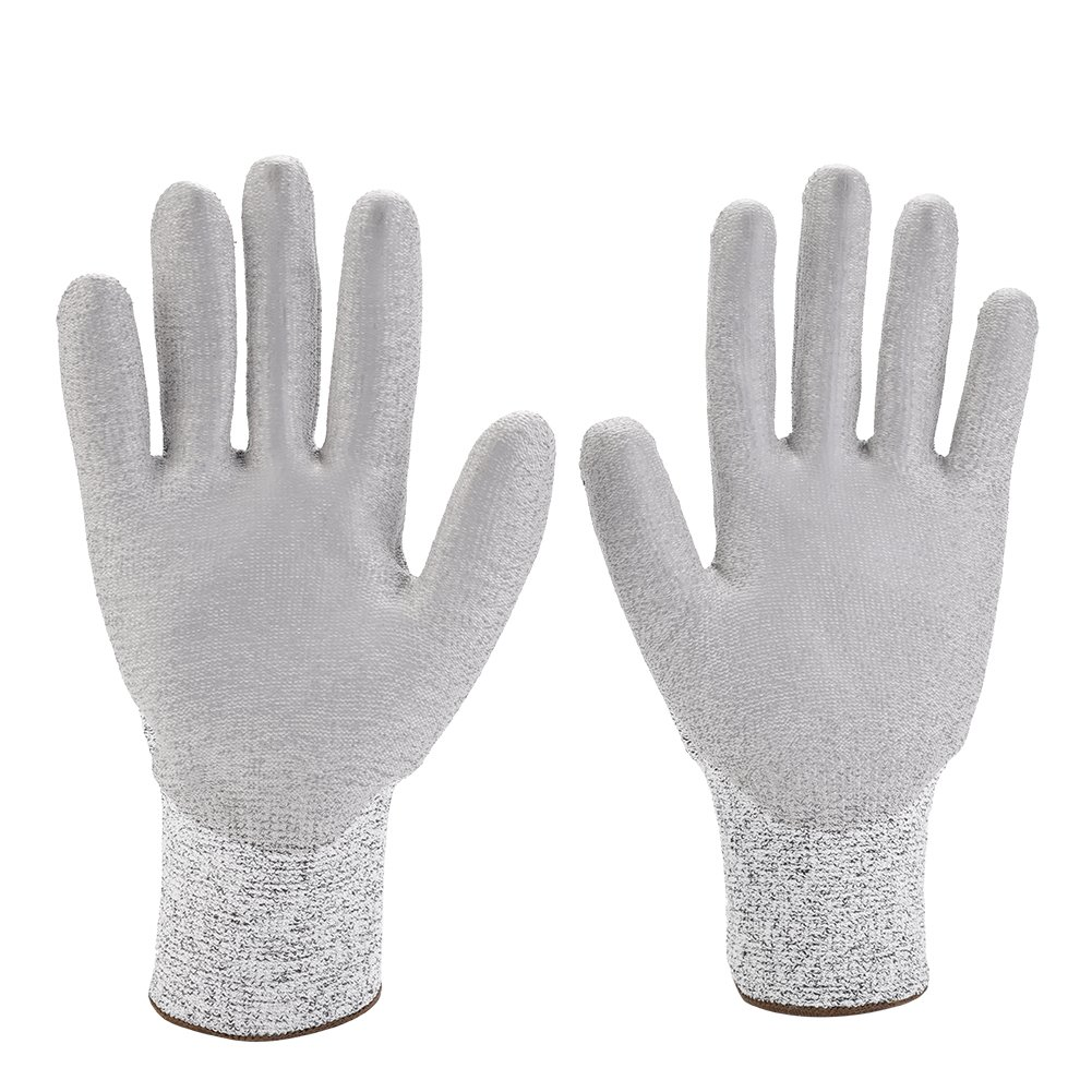 Cut Resistant Glove Safety Work Butcher Protection Tool HPPE (L)