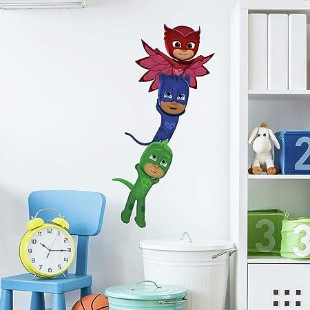 RoomMates PJ Masks Superheroes Peel and Stick Calcomanías de ...