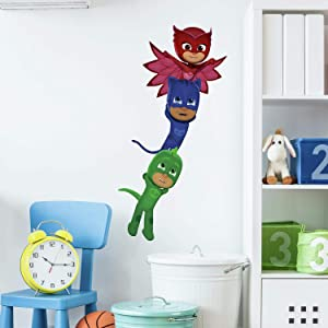 RoomMates PJ Masks Superheroes Peel and Stick Giant Wall Decals