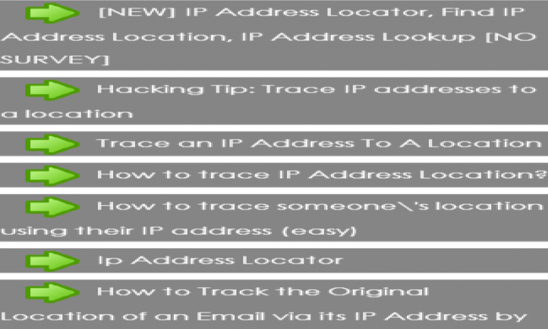 How To Track Phone Location With Ip Address How to track your lost