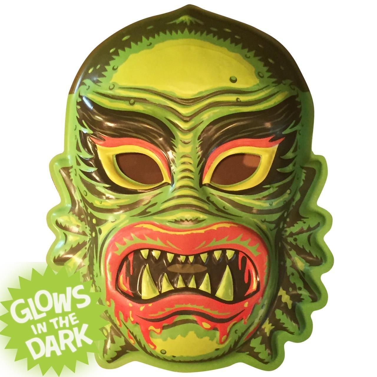 Retro-a-go-go! 4308 Fish Face VAC-Tactic Plastic Mask Wall Decor ...
