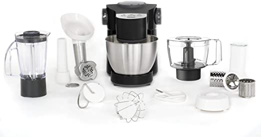 Tefal Wizzo QB3198 - Robot de cocina (4 L, Negro, Acero inoxidable ...