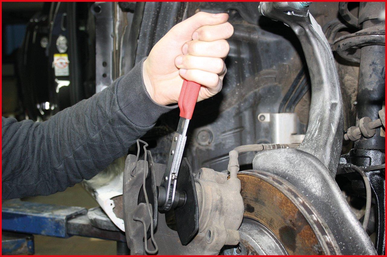 KS Tools 150.2194 Freno de trinquete herramienta de retorno del pist/ón