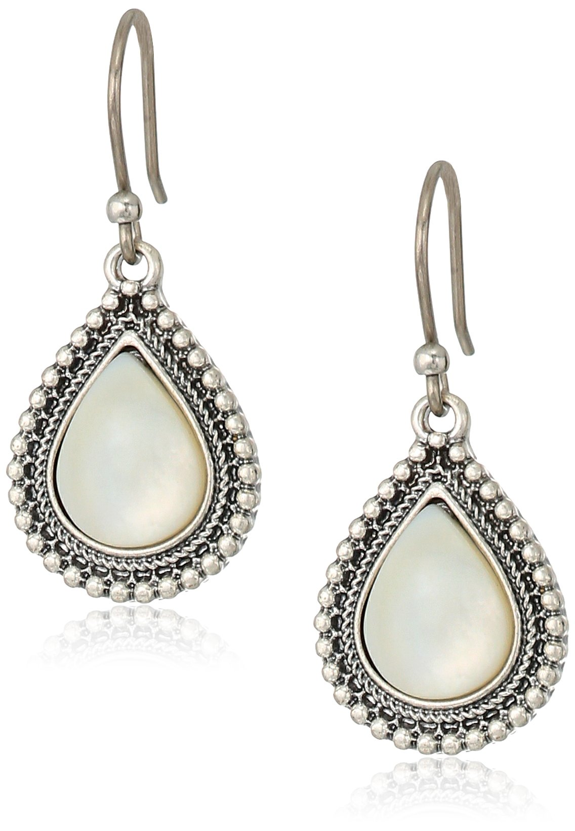 Lucky Brand Mother Of Pearl Drop Earrings