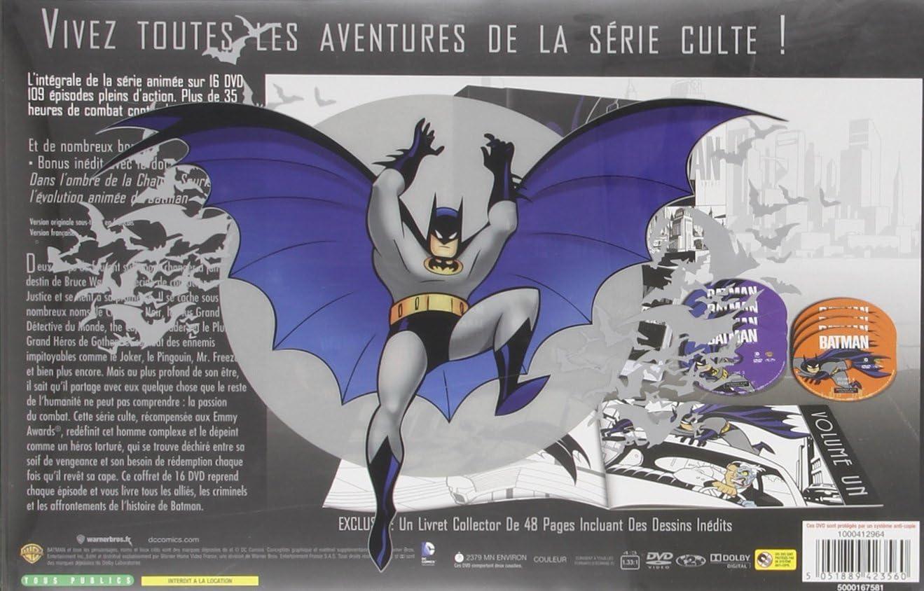 Batman L Integrale De La Serie Animee Edition Prestige Coffret Dvd Dvd Blu Ray Amazon Fr
