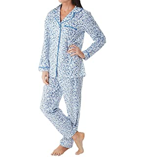 ce744785cb La Cera Women s Flannel PJ Set Plus Size at Amazon Women s Clothing ...