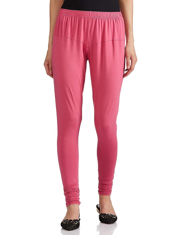 Lux Lyra Women's Leggings Silk_35_Light Fuchsia_Free Size