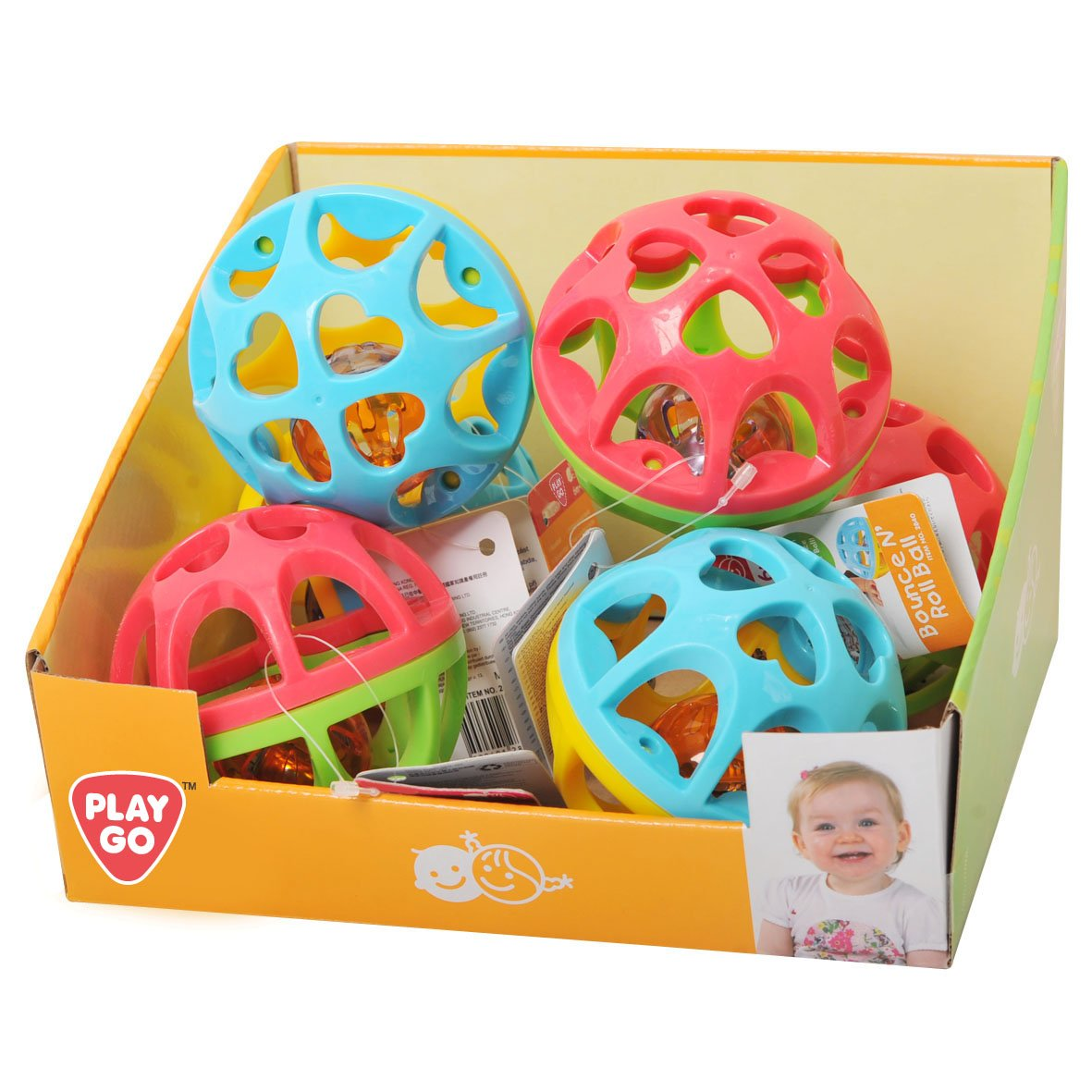PlayGo 28405Rattle Ball with Bell