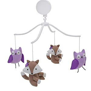 Bedtime Originals Lavender Woods Musical Mobile