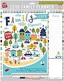 Tallon 2019 Family Organiser Calendar, Memo Pad, Pen & Shopping List - Scenic Town