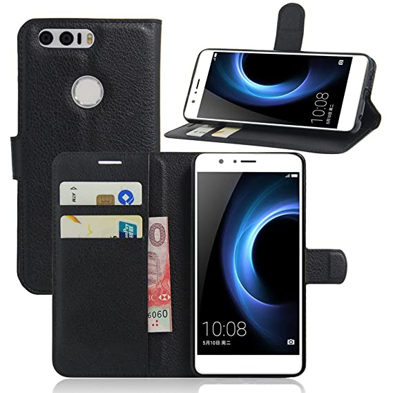 discount sale 0d5c5 97702 Huawei Honor 8 Case,Huawei Honor 8 Leather Case,OPDENK Genuine Leather  [Wallet] case [Card Slots] Book Cover [Secure Magnetic Closure] Stand Case  ...
