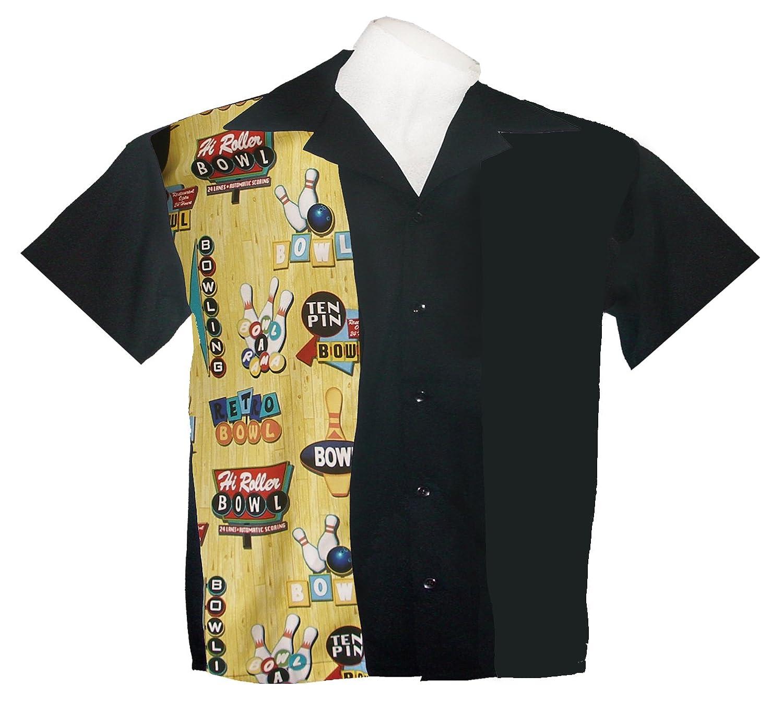 Amazon Youth Bowling Shirts Bowl A Rama Print Short Sleeve