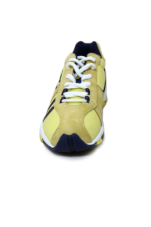 Diesel Suede/Nylon Sneaker Psyke Yellow ZOi5ZV