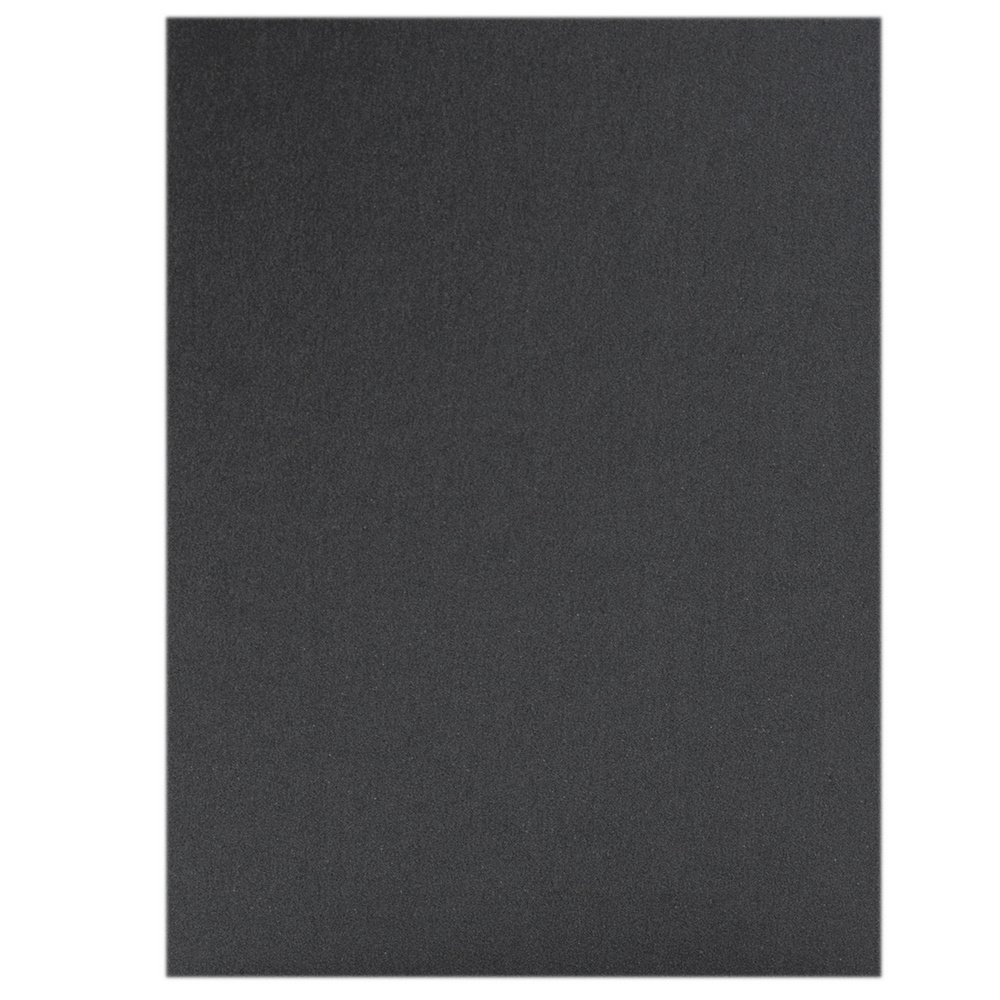 JAM Paper Stardream Foldover Cards - 5'' x 7'' (Fits in A7 Envelopes) - Metallic Anthracite Black - 50/pack