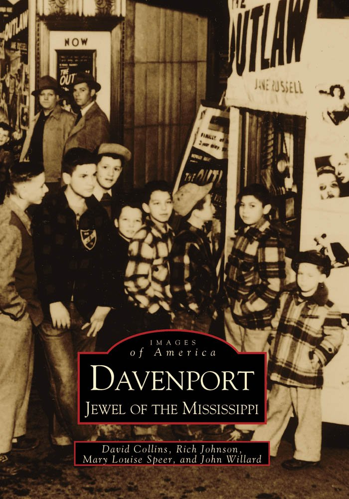 Read Online Davenport: Jewel of the Mississippi  (IA)   (Images of America) pdf