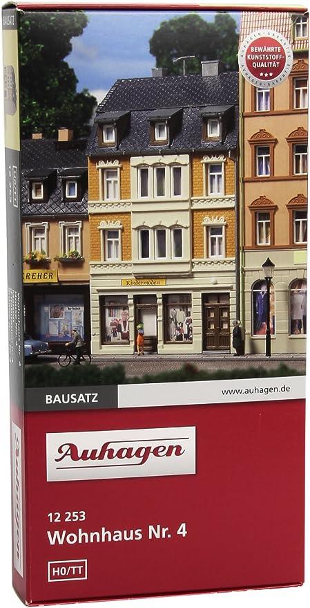 4 in H0//TT Bausatz Auhagen 12253 Wohnhaus Nr