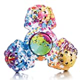 Amazon Price History for:STRESS SPINNER Colorful Camo Fidget Tri Hand Spinning Finger Toy Stocking Stuffer for ADHD EDC Focus Relieves Anxiety and Boredom