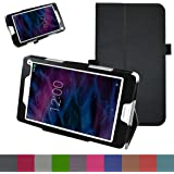 "Medion Lifetab P8311 / P8312 / P8313 / P8314 / S8312 / S8311 hülle,Mama Mouth Folding Ständer Hülle Case mit Standfunktion für 8"" Medion Lifetab P8311 / P8312 / P8313 / P8314 / S8312 / S8311 Android Tablet,Schwarz"