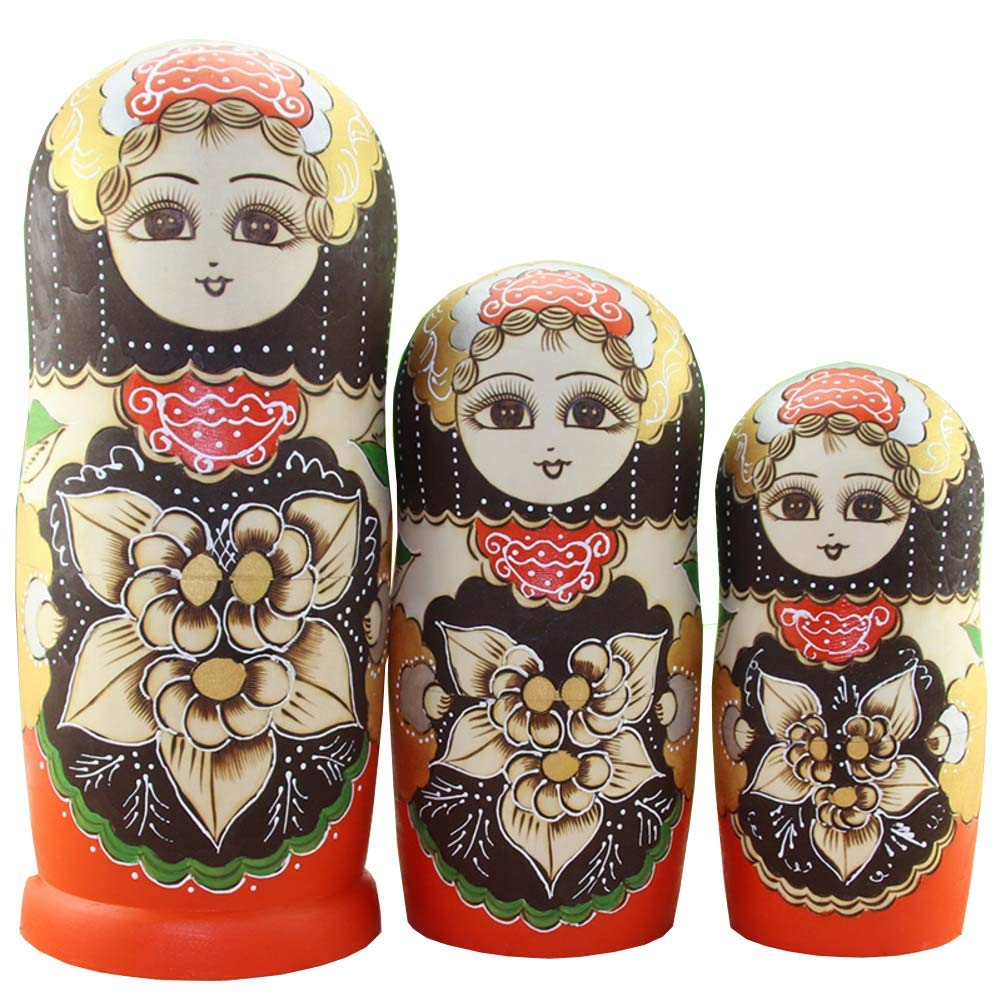Matryoshka Dolls Blank Nesting Dolls for Kids, 20 Pieces for Kids Toy Birthday Home Decoration Parent-Child Time by DADAO (Image #1)